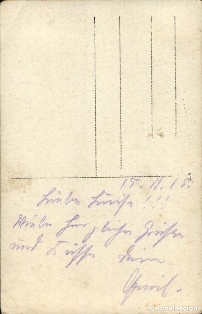 Militaria: Original - Fotografía Postal Soldados Alemanes. I Guerra Mundial. Alemania - Foto 2 - 187371891