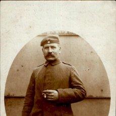 Militaria: ORIGINAL - FOTOGRAFÍA POSTAL SOLDADO ALEMAN. I GUERRA MUNDIAL. ALEMANIA - EJERCITO IMPERIAL. Lote 187372035