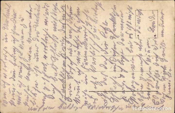 Militaria: Original - Fotografía Postal Soldado Aleman. I Guerra Mundial. Alemania - Ejercito imperial - Foto 2 - 187372035