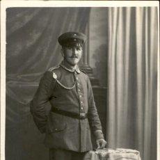 Militaria: ORIGINAL - FOTOGRAFÍA POSTAL SOLDADO ALEMAN. I GUERRA MUNDIAL. ALEMANIA - EJERCITO IMPERIAL. Lote 187372402