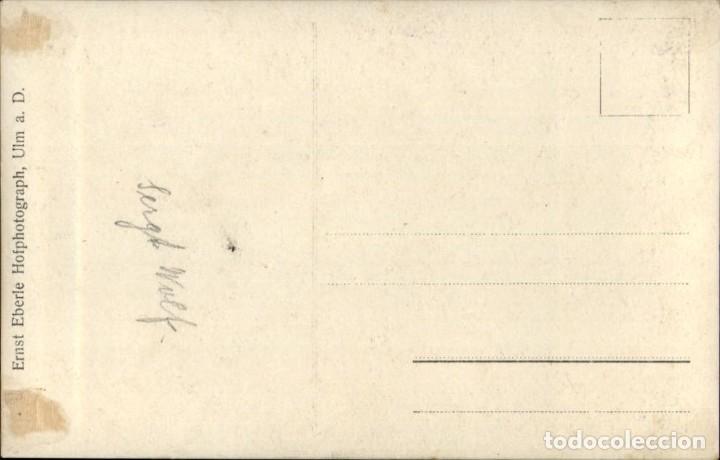 Militaria: Original - Fotografía Postal Soldado Aleman. I Guerra Mundial. Alemania - Ejercito imperial - Foto 2 - 187372402