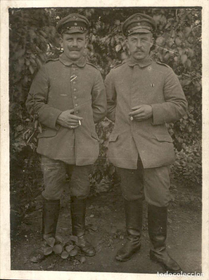 ORIGINAL - FOTOGRAFÍA POSTAL SOLDADO ALEMÁN. I GUERRA MUNDIAL. ALEMANIA - CRUZ DE HIERRO IRON CROSS (Militar - Fotografía Militar - I Guerra Mundial)