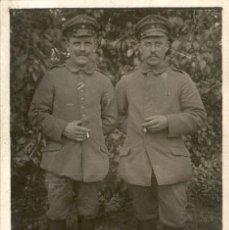 Militaria: ORIGINAL - FOTOGRAFÍA POSTAL SOLDADO ALEMÁN. I GUERRA MUNDIAL. ALEMANIA - CRUZ DE HIERRO IRON CROSS. Lote 187372718