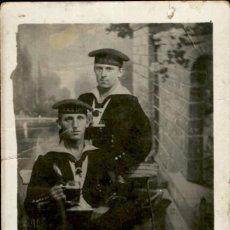 Militaria: ORIGINAL - FOTOGRAFÍA POSTAL MARINEROS ALEMANES.KRIEGSMARINE. I GUERRA MUNDIAL. ALEMANIA - . Lote 187379563