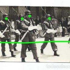 Militaria: DESFILE MILITAR ANTE LA CATEDRAL DE MURCIA. POR IDENTIFICAR. FOTÓGRAFO DESCONOCIDO.. Lote 187412115