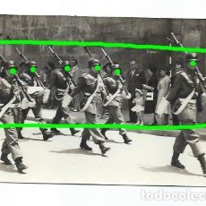 Militaria: DESFILE MILITAR ANTE LA CATEDRAL DE MURCIA. POR IDENTIFICAR. FOTÓGRAFO DESCONOCIDO.. Lote 187412296