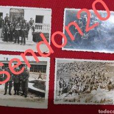 Militaria: LOTE 4 FOTOGRAFIAS GUERRA CIVIL. Lote 187455236