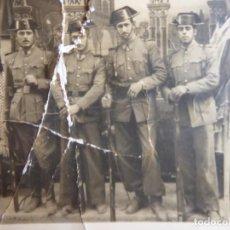 Militaria: FOTOGRAFÍA GUARDIAS CIVILES.. Lote 187531455