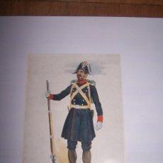 Militaria: LOTE DE 25 LAMINAS DE UNIFORMES DE LA GUARDIA CIVIL. AÑOS 70. LEER DESCRIPCIÓN. Lote 187583196