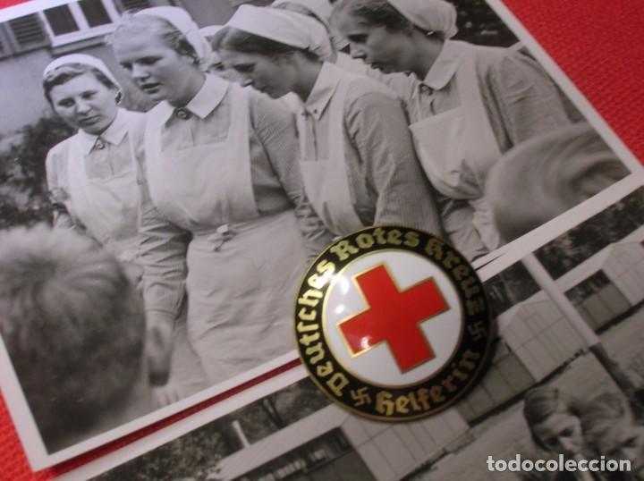 PRECIOSO LOTE DE FOTOGRAFIAS DE ENFERMERAS ALEMANAS. II GUERRA MUNDIAL. DEUTSCHES ROTES KREUZ. (Militar - Fotografía Militar - II Guerra Mundial)