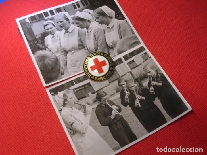 Militaria: PRECIOSO LOTE DE FOTOGRAFIAS DE ENFERMERAS ALEMANAS. II GUERRA MUNDIAL. DEUTSCHES ROTES KREUZ. - Foto 3 - 187638290