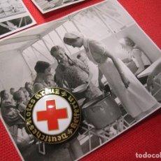 Militaria: PRECIOSO LOTE DE FOTOGRAFIAS DE ENFERMERAS ALEMANAS. II GUERRA MUNDIAL. DEUTSCHES ROTES KREUZ.. Lote 187638411