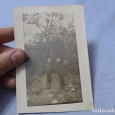 Militaria: * ANTIGUA FOTOGRAFIA DE MILICIANO REPUBLICANO DE ZONA DE VALENCIA, GUERRA CIVIL, ZX. Lote 187766317