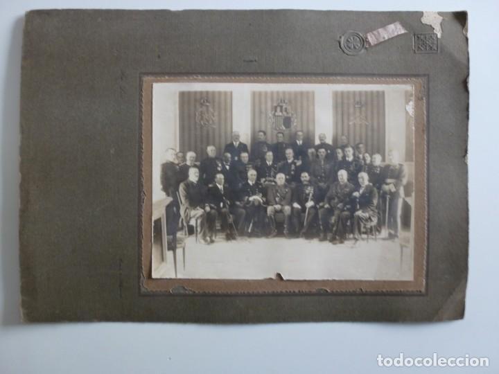 Militaria: Fotografía Militar Distintos Paises - ¿ Acuerdo Algeciras - Cadiz 1906 ? Tamaño 23 x 17 cm. - Foto 2 - 188502455