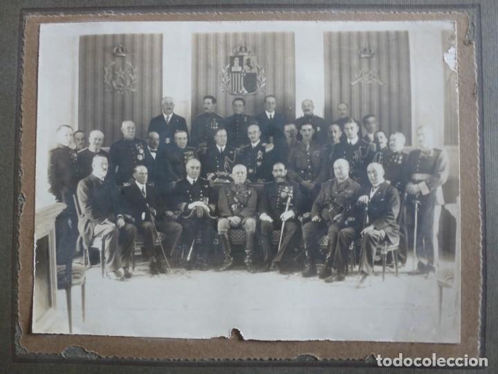 FOTOGRAFÍA MILITAR DISTINTOS PAISES - ¿ ACUERDO ALGECIRAS - CADIZ 1906 ? TAMAÑO 23 X 17 CM. (Militar - Fotografía Militar - Otros)