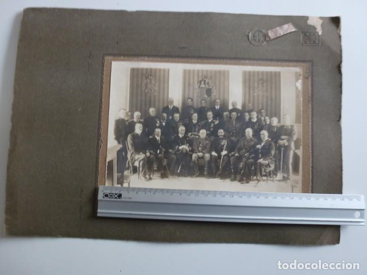 Militaria: Fotografía Militar Distintos Paises - ¿ Acuerdo Algeciras - Cadiz 1906 ? Tamaño 23 x 17 cm. - Foto 3 - 188502455
