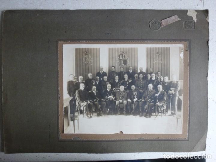 Militaria: Fotografía Militar Distintos Paises - ¿ Acuerdo Algeciras - Cadiz 1906 ? Tamaño 23 x 17 cm. - Foto 8 - 188502455