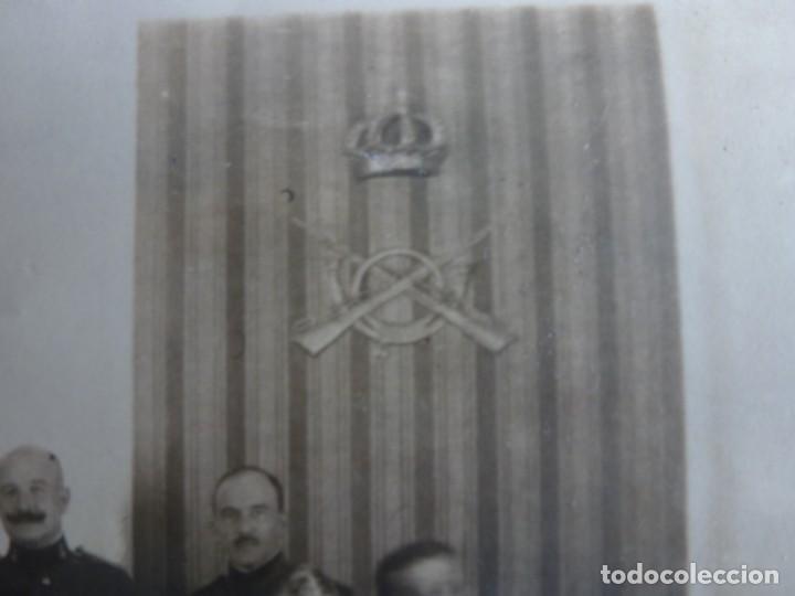 Militaria: Fotografía Militar Distintos Paises - ¿ Acuerdo Algeciras - Cadiz 1906 ? Tamaño 23 x 17 cm. - Foto 11 - 188502455