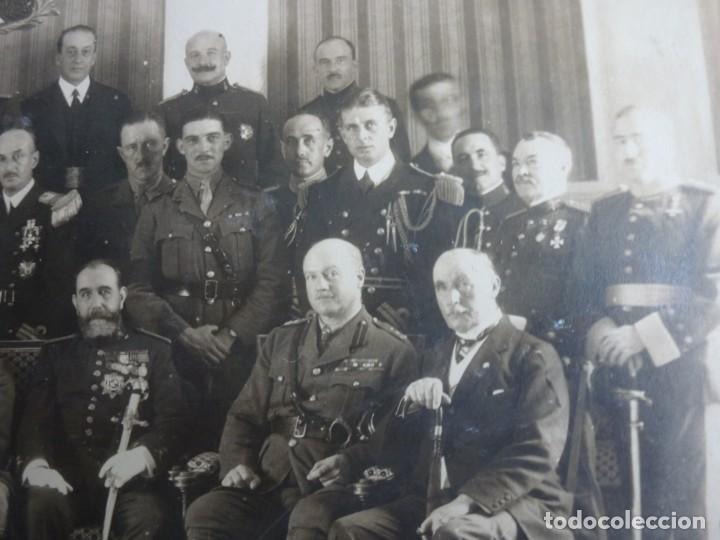 Militaria: Fotografía Militar Distintos Paises - ¿ Acuerdo Algeciras - Cadiz 1906 ? Tamaño 23 x 17 cm. - Foto 13 - 188502455