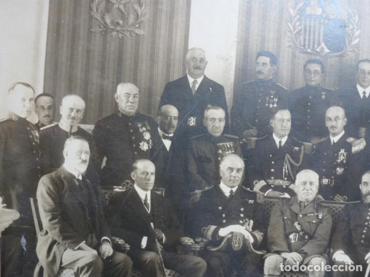 Militaria: Fotografía Militar Distintos Paises - ¿ Acuerdo Algeciras - Cadiz 1906 ? Tamaño 23 x 17 cm. - Foto 14 - 188502455