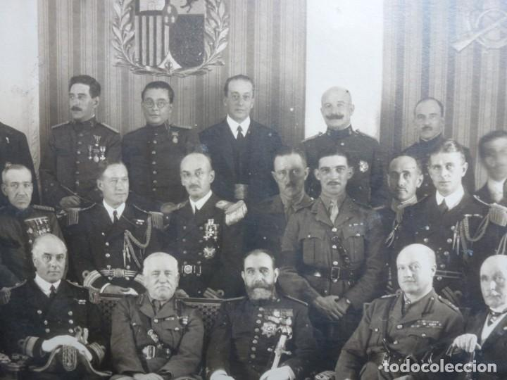 Militaria: Fotografía Militar Distintos Paises - ¿ Acuerdo Algeciras - Cadiz 1906 ? Tamaño 23 x 17 cm. - Foto 15 - 188502455