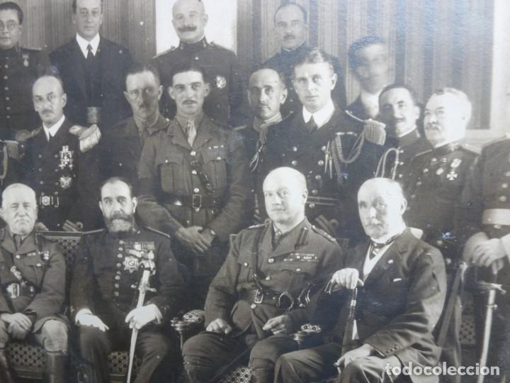 Militaria: Fotografía Militar Distintos Paises - ¿ Acuerdo Algeciras - Cadiz 1906 ? Tamaño 23 x 17 cm. - Foto 16 - 188502455