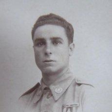 Militaria: FOTOGRAFÍA SOLDADO SANIDAD MILITAR DEL EJÉRCITO ESPAÑOL. MADRID. Lote 188595298