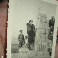 Militaria: CAPITAN ESCOMBATIENTE GUERRA CIVIL EN CEUTA MONUMENTO O PANTEON DE CEMENTERIO. Lote 188703522