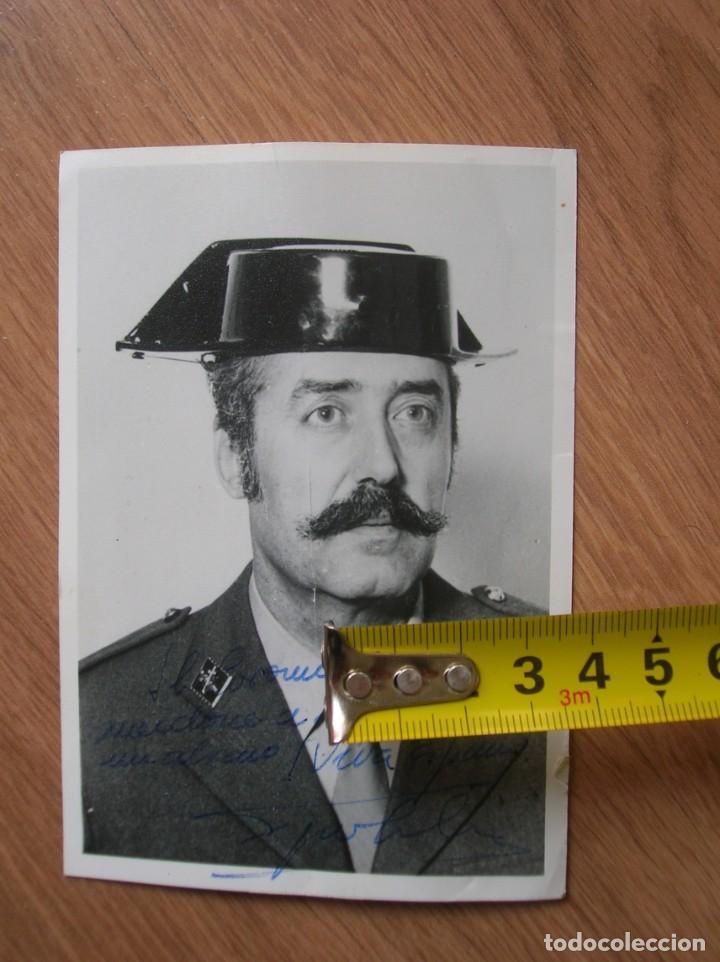 Militaria: FOTOGRAFIA FIRMADA Y DEDICADA POR EL TENIENTE CORONEL TEJERO MOLINA.. 23-F. - Foto 3 - 188748893