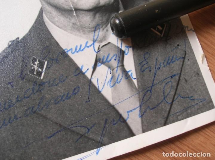 Militaria: FOTOGRAFIA FIRMADA Y DEDICADA POR EL TENIENTE CORONEL TEJERO MOLINA.. 23-F. - Foto 4 - 188748893