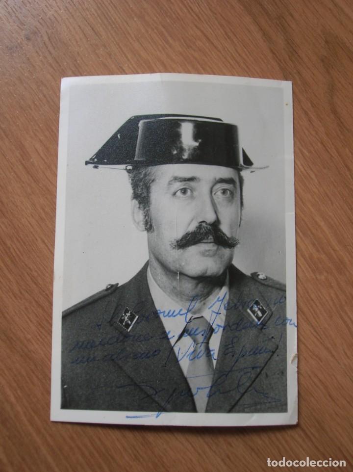 Militaria: FOTOGRAFIA FIRMADA Y DEDICADA POR EL TENIENTE CORONEL TEJERO MOLINA.. 23-F. - Foto 5 - 188748893