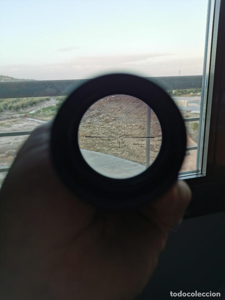 Militaria: Mira telescopica fusil. Ronel regal 39X40.Japon - Foto 5 - 188825582