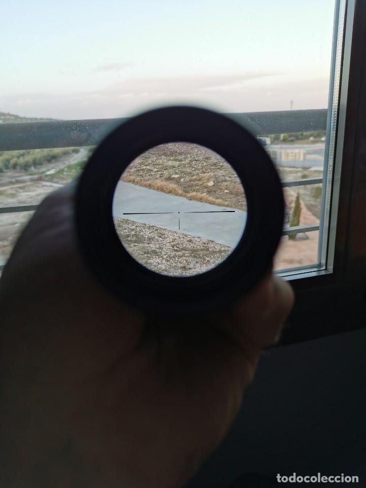 Militaria: Mira telescopica fusil. Ronel regal 39X40.Japon - Foto 6 - 188825582