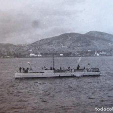Militaria: FOTOGRAFÍA LANCHA RÁPIDA ARMADA NACIONAL. GUERRA CIVIL. Lote 189431532