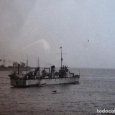 Militaria: FOTOGRAFÍA MINADOR CLASE JUPITER ARMADA NACIONAL. GUERRA CIVIL. Lote 189432437