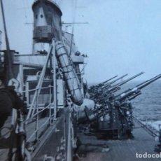 Militaria: FOTOGRAFÍA CRUCERO CANARIAS. BOHIGAS PALMA DE MALLORCA. Lote 189432646