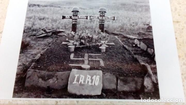FOGRAFÍA REVELADO ACTUAL DE NEGATIVO ORIGINAL DE MI COLECCIÓN. 16 PANZER DIVISIÓN (Militar - Fotografía Militar - II Guerra Mundial)