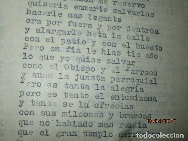 Militaria: LIBRO ORIGINAL INEDITO CARLOS HERRERO PROGRAMA DE RELIGION, DETERIORADO - Foto 7 - 189603560