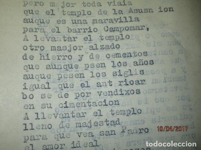Militaria: LIBRO ORIGINAL INEDITO CARLOS HERRERO PROGRAMA DE RELIGION, DETERIORADO - Foto 8 - 189603560