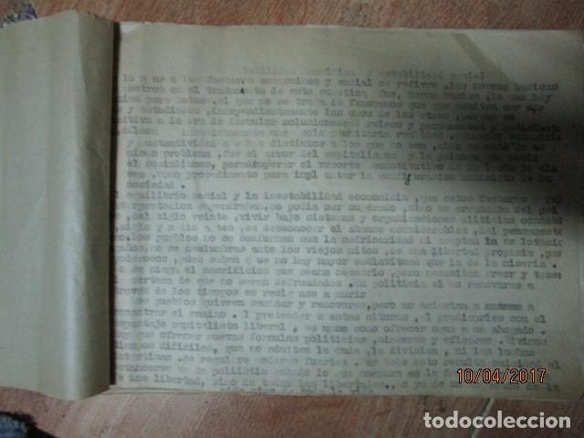 Militaria: LIBRO ORIGINAL INEDITO CARLOS HERRERO PROGRAMA DE RELIGION, DETERIORADO - Foto 10 - 189603560