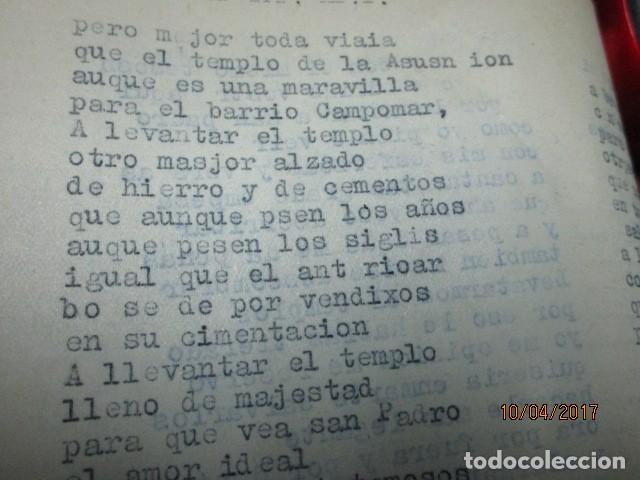 Militaria: LIBRO ORIGINAL INEDITO CARLOS HERRERO PROGRAMA DE RELIGION, DETERIORADO - Foto 13 - 189603560