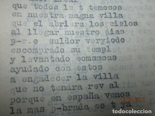 Militaria: LIBRO ORIGINAL INEDITO CARLOS HERRERO PROGRAMA DE RELIGION, DETERIORADO - Foto 14 - 189603560