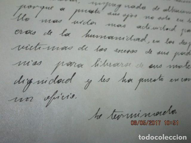 Militaria: manuscrito LIBRO INEDITO CARLOS HERRERO sobre la sociedad escuelas españa post guerra civil - Foto 4 - 189603842