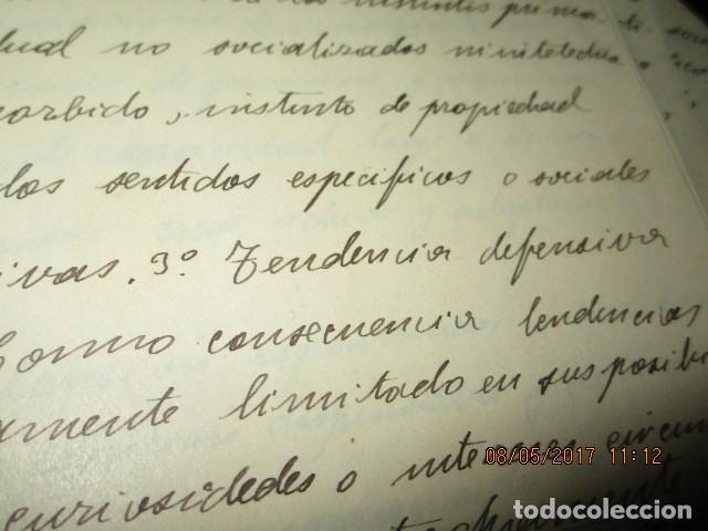 Militaria: manuscrito LIBRO INEDITO CARLOS HERRERO sobre la sociedad escuelas españa post guerra civil - Foto 12 - 189603842