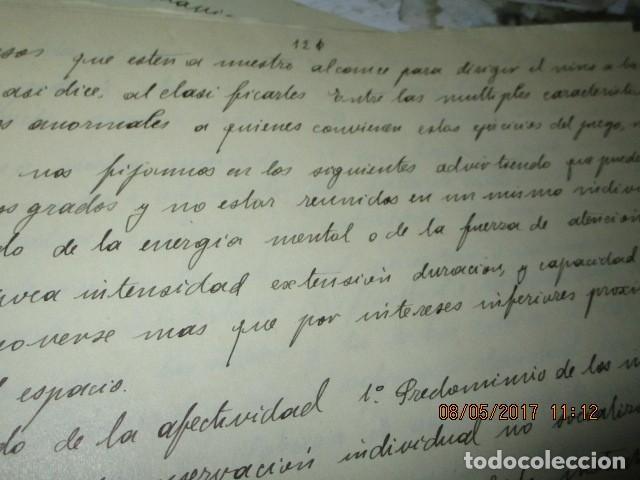 Militaria: manuscrito LIBRO INEDITO CARLOS HERRERO sobre la sociedad escuelas españa post guerra civil - Foto 13 - 189603842
