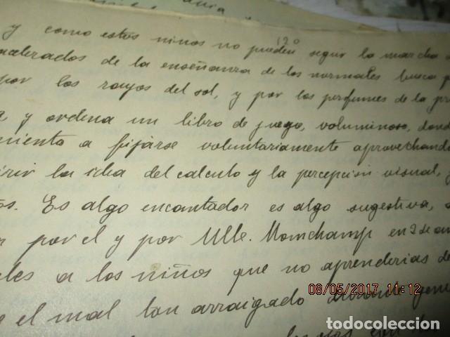 Militaria: manuscrito LIBRO INEDITO CARLOS HERRERO sobre la sociedad escuelas españa post guerra civil - Foto 15 - 189603842