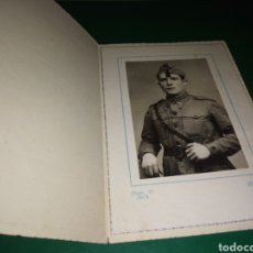 Militaria: FOTO DE UN MILITAR ANTIGUA. HERAS. JACA ( HUESCA). Lote 189647095