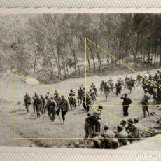 Militaria: FOTO FRENTE NORTE LEGION CONDOR GUERRA CIVIL MARCHA. Lote 189991146