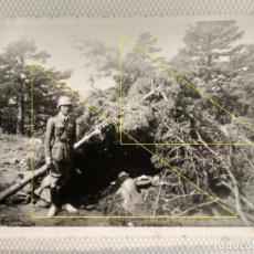 Militaria: FOTO FRENTE NORTE LEGION CONDOR GUERRA CIVIL REFUGIO. Lote 189991358