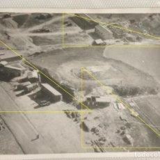 Militaria: FOTO FRENTE NORTE LEGION CONDOR GUERRA CIVIL AEROPUERTO AERODROMO VITORIA SALBURUA GASTEIZ. Lote 189991801